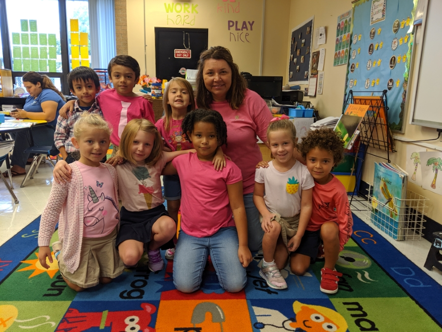 Osceola Magnet's Casual for a Cause...Think Pink